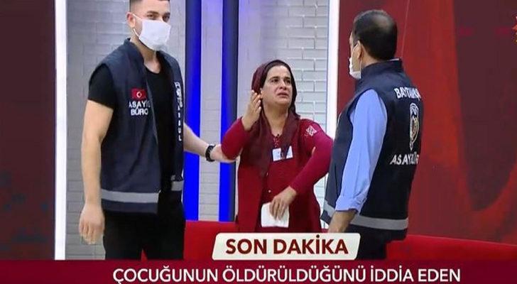 Serap Paköz'ün sunduğu Gerçeğin Peşinde'de cinayet itirafı! Canlı yayını polis bastı