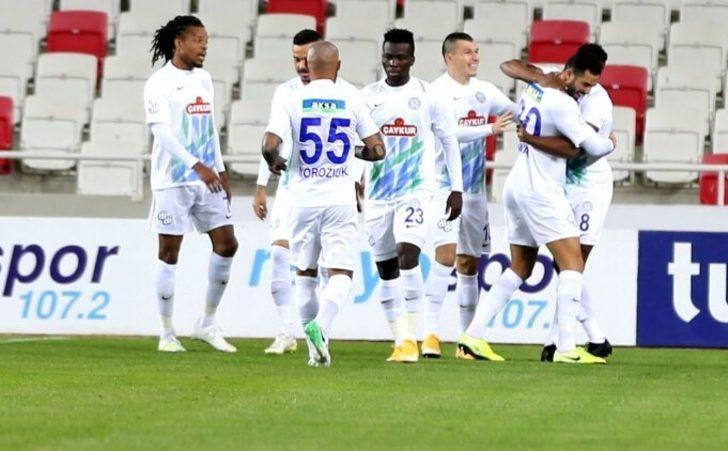 ÖZET | Sivasspor - Çaykur Rizespor: 0-2