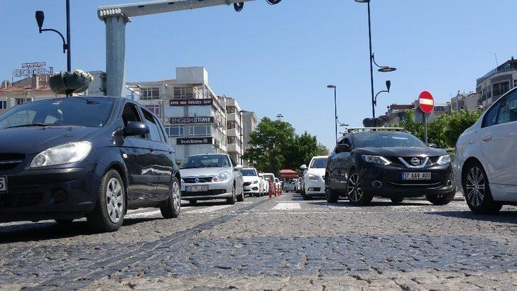 Çanakkale'de trafiğe kayıtlı araç sayısı 237 bin oldu