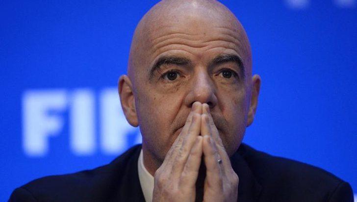 FIFA Başkanı Gianni Infantino'nun koronavirüs testi pozitif çıktı