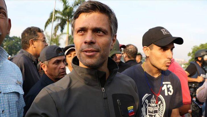 İspanya'ya kaçan Venezuelalı muhalif lider Leopoldo Lopez: 'Eşimin bile haberi yoktu'