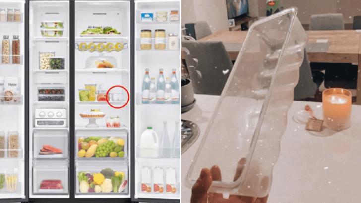 'Buzdolabındaki bu parçanın ne işe yaradığını bilen var mı?'