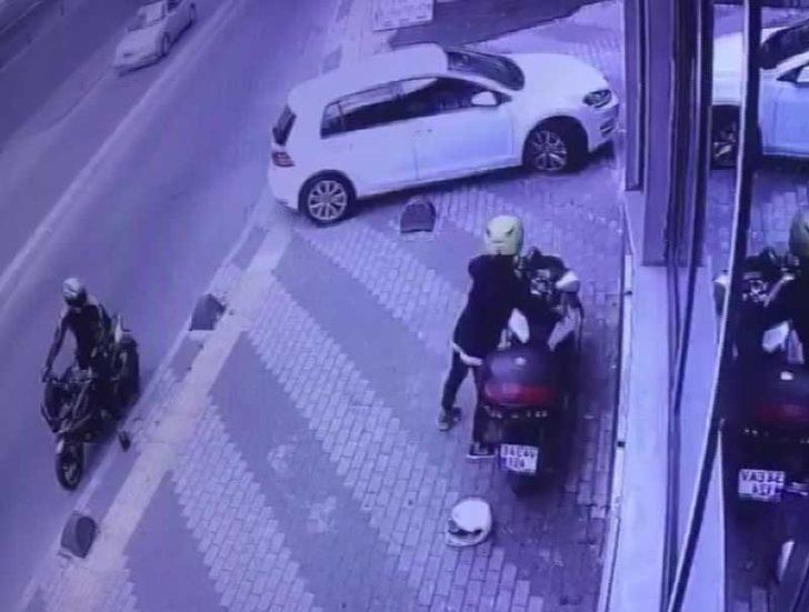(Özel) İstanbul'da motosiklet hırsızları durmuyor