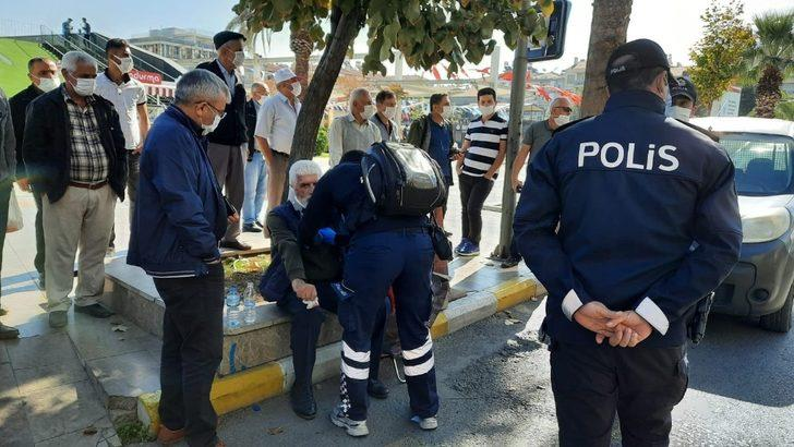 Aydın'da trafik kazası; 1 yaralı