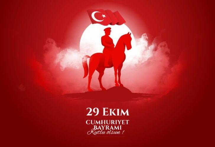 Cumhuriyet Bayramı 2020 geldi... 29 Ekim 2020 resimli Cumhuriyet Bayramı mesajları ve sözleri!