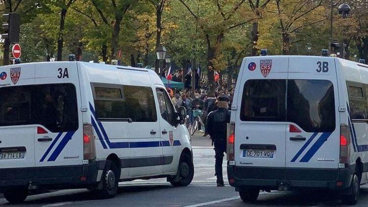 Fransa'da Ermeni protestocular işe giden Türklere saldırdı: 5 yaralı