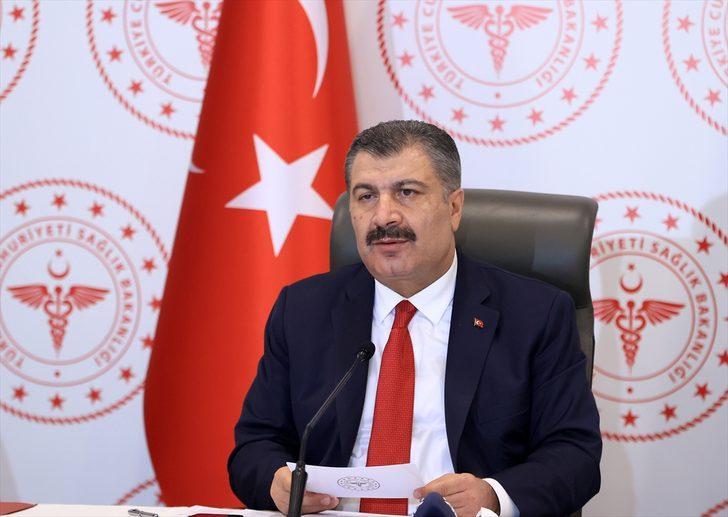 Sağlık Bakanı Fahrettin Koca: İstanbul'da son 1 haftada vaka artış oranı yüzde 62