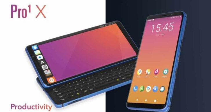 Pro1-X fiziksel klavyeli akıllı telefon duyuruldu