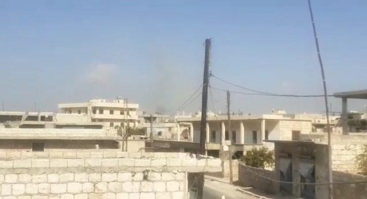 Esad rejimi İdlib'in kırsalını vurdu: 3 yaralı