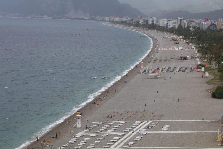 Dünyaca ünlü sahil 29 Ekim'de boş kaldı!