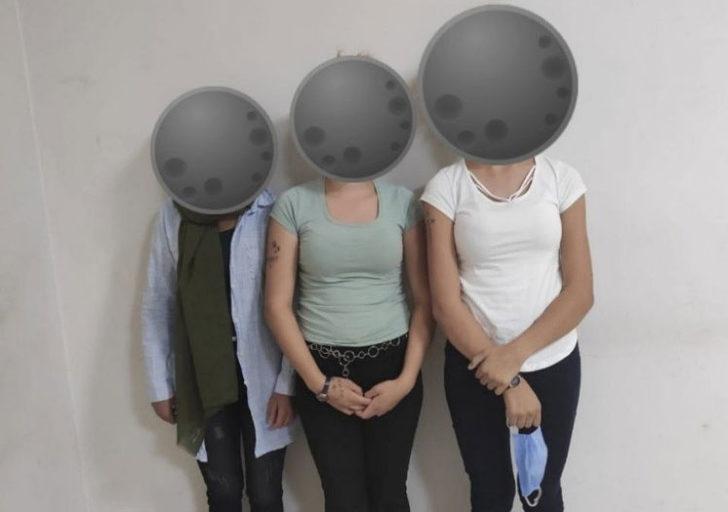 İki ilde birçok hırsızlık yapan kadınlar yakalandı