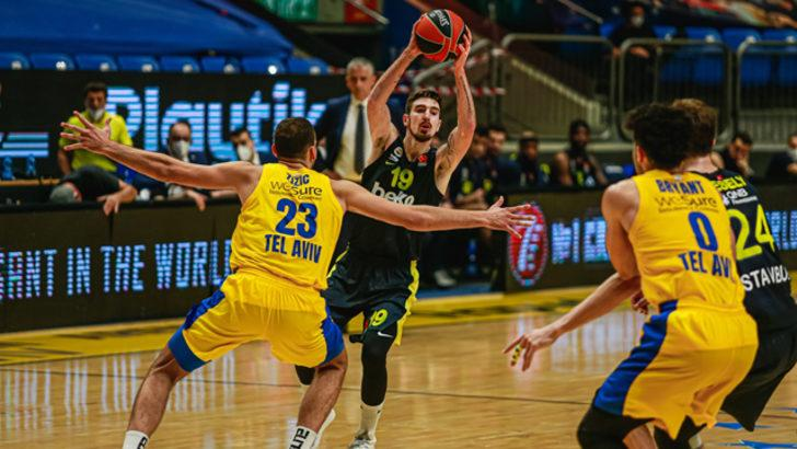 Maccabi Playtika - Fenerbahçe Beko maç sonucu: 65 -75