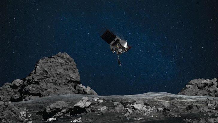 OSIRIS-REx uzay aracı gök taşı örneklerini kapsülle Dünya'ya gönderecek