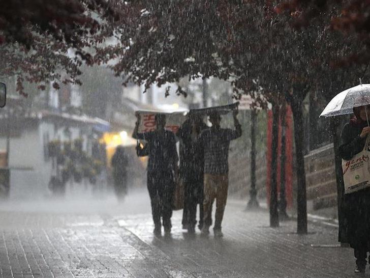 Meteoroloji uyardı! İstanbullular dikkat (30 Ekim yurtta hava durumu)