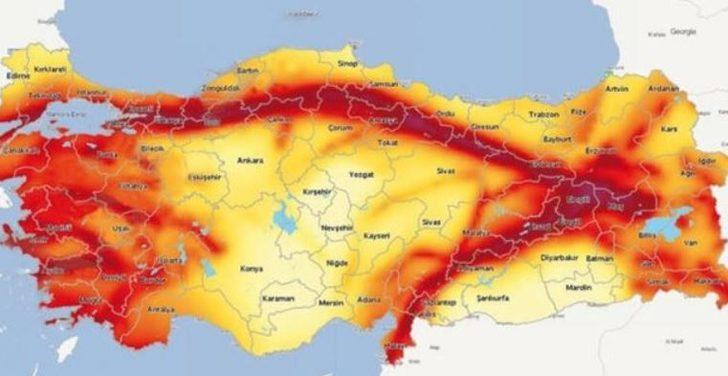 AFAD fay hattı sorgulama... Evimin altından fay hattı geçiyor mu? Türkiye'de il il fay hatları nerelerden geçiyor?