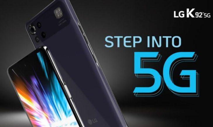 LG K92 resmi olarak tanıtıldı