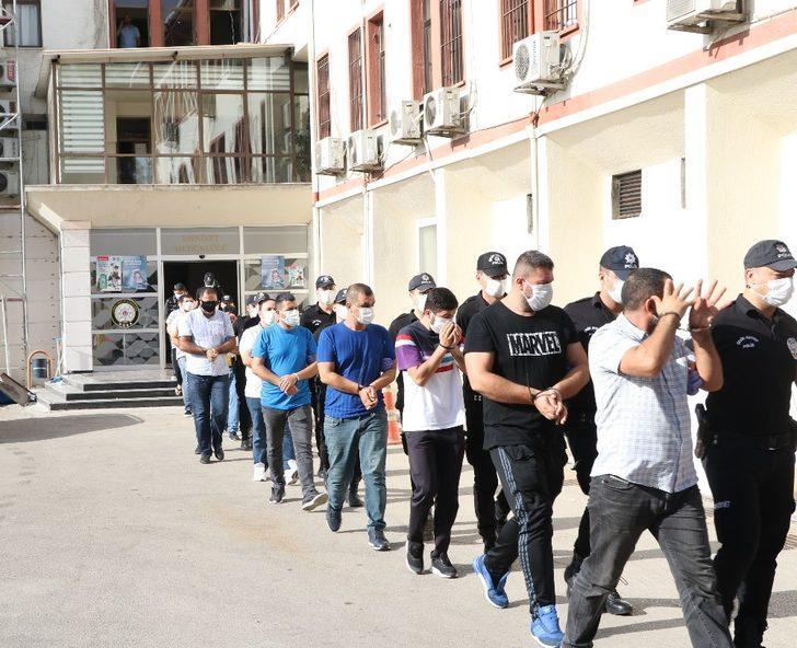 Mersin'de 'yasa dışı bahis' operasyonunda 9 tutuklama