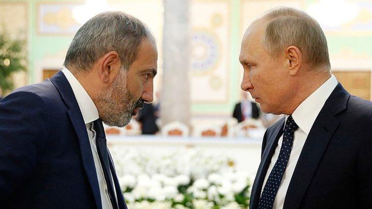 Rusya'dan Ermenistan Başbakanı Paşinyan'a soğuk duş