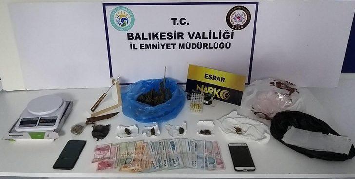 Uyuşturucu madde ticareti yapan 1 kişi tutuklandı