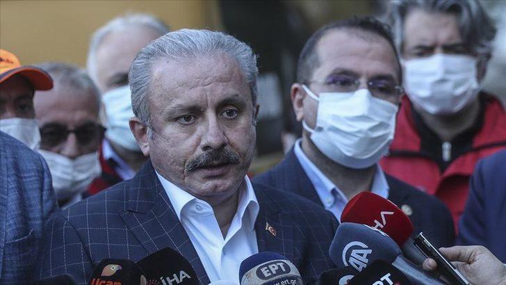 TBMM Başkanı Mustafa Şentop'tan enkazdan çıkarılan Buse Hasyılmaz'a ziyaret