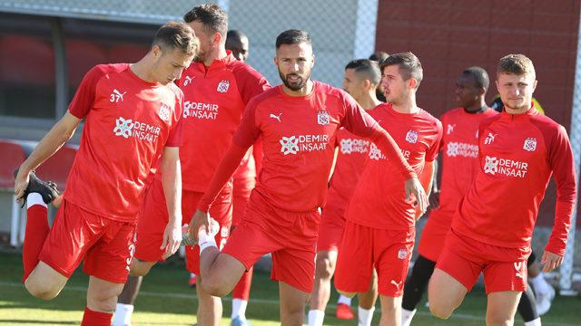 Sivasspor Hatayspor maçına hazır
