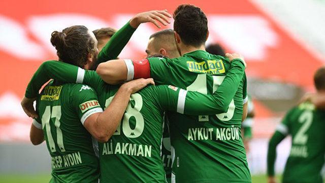 Bursaspor, son galibiyet ile nefes aldı