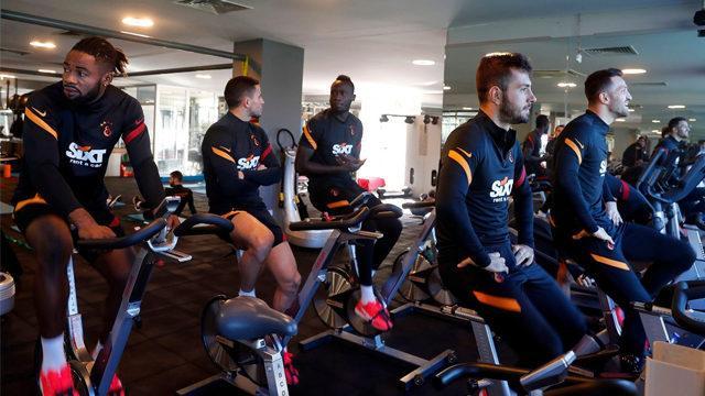Galatasaray, Sivasspor maçı hazırlıklarına hemen başladı