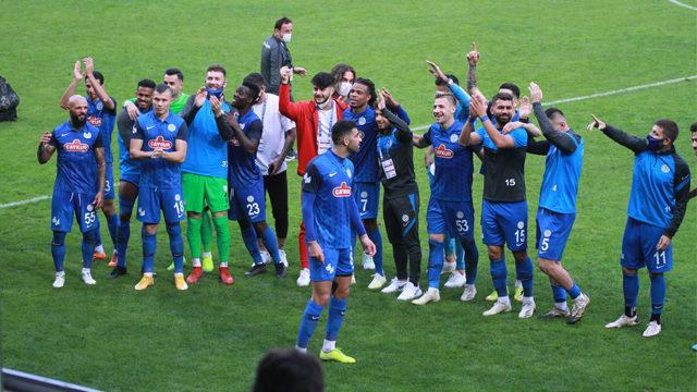 ÖZET | Rizespor - Kayserispor maç sonucu : 1-0