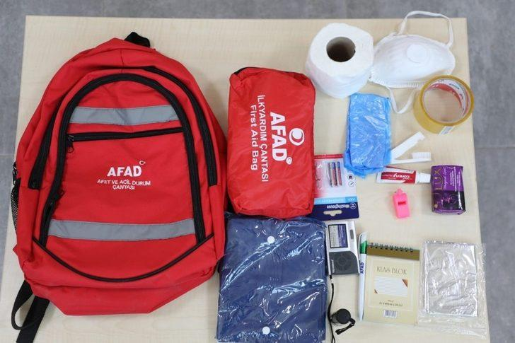 Depremde hayat kurtarıyor! İşte bir deprem çantasının maliyeti