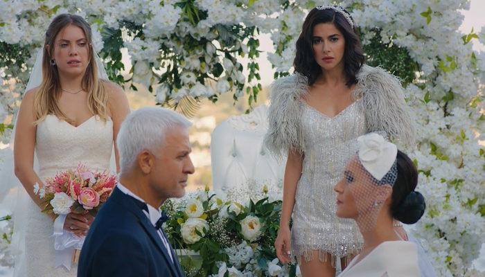 Yasak Elma 83. son bölümde Halit ve Ender evlendi! Yasak Elma'daki 3 gelin ve 1 damat sahnesi sosyal medyada gündem oldu