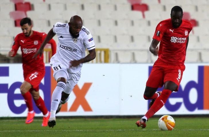 ÖZET   Sivasspor - Qarabag: 2-0