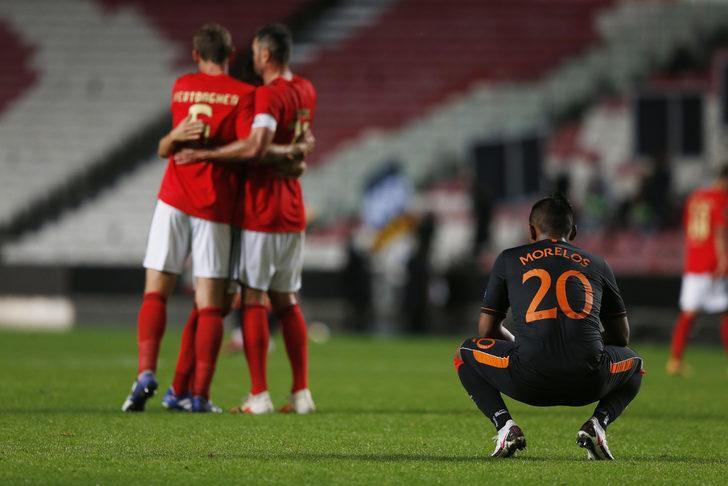 10 kişi kalan Benfica pes etmedi, 1 puanı kaptı!