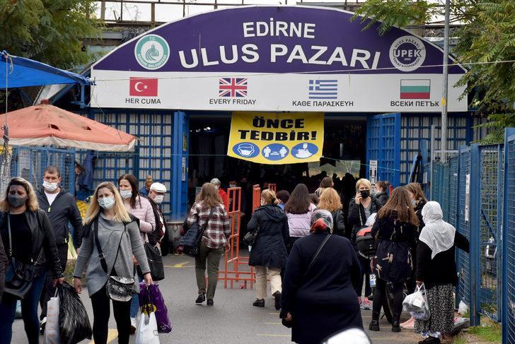 Edirne'ye Bulgar turist akını sürüyor