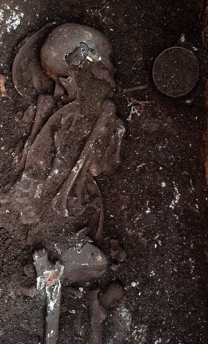 Perre Antik Kenti'nde bin 500 yıllık bozulmamış iskelet bulundu