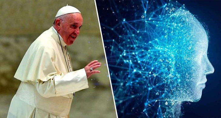 Papa Francis'ten yapay zekaya karşı dualı önlem