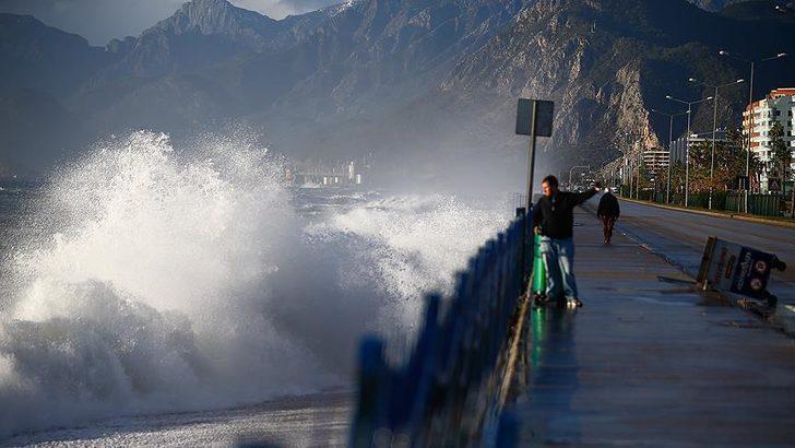Meteoroloji'den Marmara Denizi için fırtına uyarısı