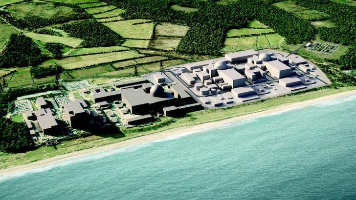 İngiltere'de 20 milyar sterlinlik Sizewell C nükleer santrali için görüşmeler başladı