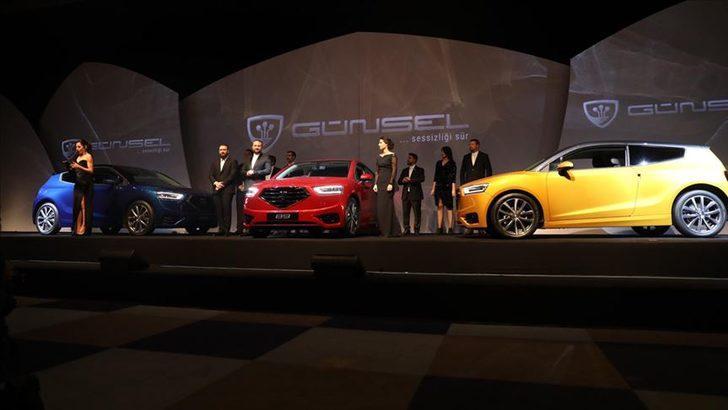 KKTC'nin yerli otomobili 'Günsel' Türkiye'ye geliyor