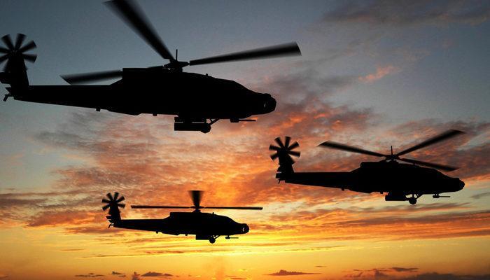 Sina Yarımadası'nda helikopter düştü: 7 ölü
