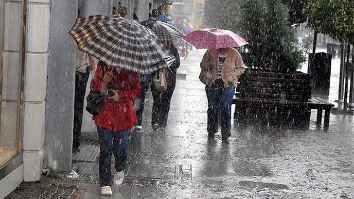 14 Kasım hava durumu: Meteoroloji'den sağanak yağış uyarısı