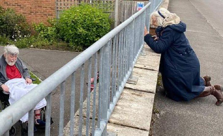 Yer: İngiltere! Koronavirüs, 52 yıllık çifti böyle ayırdı