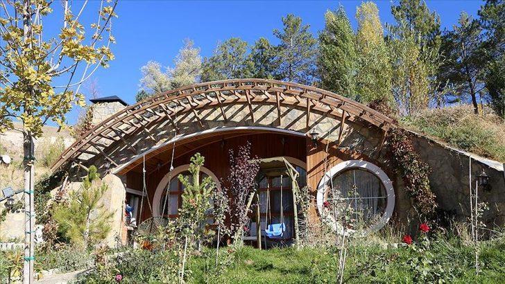 Pandemi sürecinde Sivas'ın 'Hobbit evleri'ne ilgi arttı! Türkiye'deki Hobbit evleri nerede?