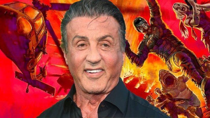 Sylvester Stallone da süper kahraman dünyasına adım attı! The Suicide Squad kadrosuna dahil oldu