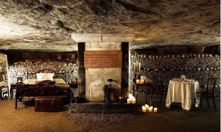 Paris'in Yeraltı Mezarlarında Bir Gece Geçirebilecek Kadar Cesur Musunuz?