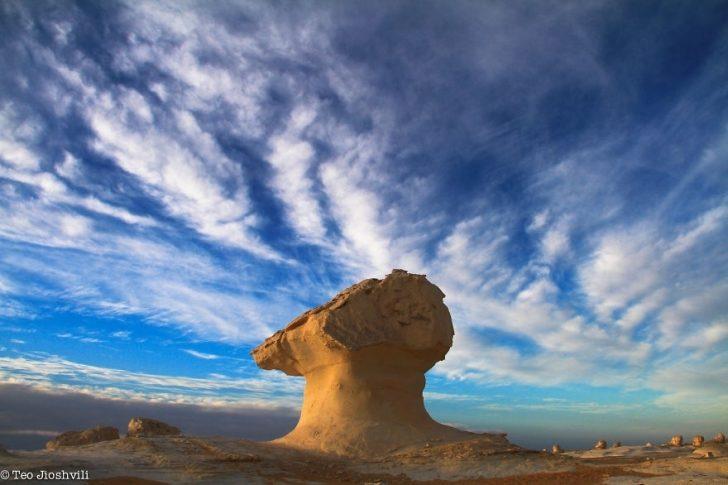 Fotoğrafçının Mısır Gezisinde Hayran Kaldığı Beyaz Çöl'de Çektiği Fotoğrafları