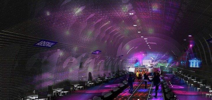 Paris, Hayalet Metro İstasyonlarını Sosyal Alanlara Dönüştürüyor
