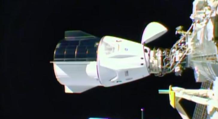 SpaceX'in uzay aracı Uluslararası Uzay İstasyonu'na ulaştı
