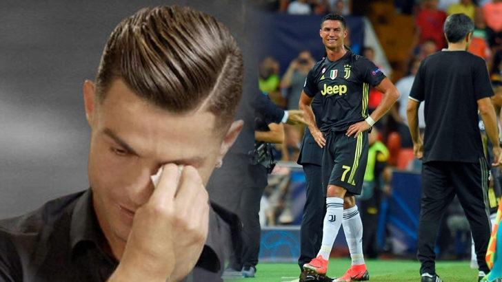 Ronaldo, eski günlerini anlatırken gözyaşlarını tutamadı