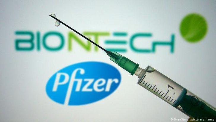 Biontech ve Pfizer AB'de kullanım iznine başvurdu