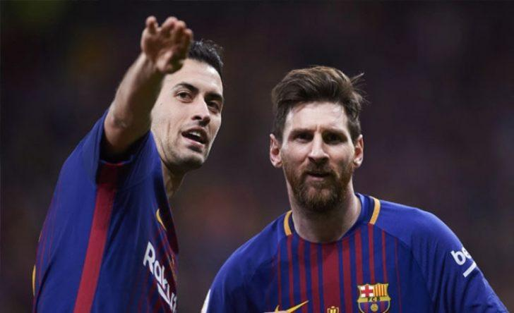 Barcelona'da Busquets, Atletico Madrid maçında yok
